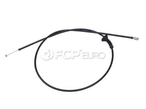 BMW Hood Release Cable Rear (330i 325i 325xi 330xi) - Genuine BMW 51237060529