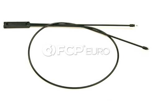 BMW Hood Release Cable Front (330i 325i 325xi 330xi) - Genuine BMW 51237060552
