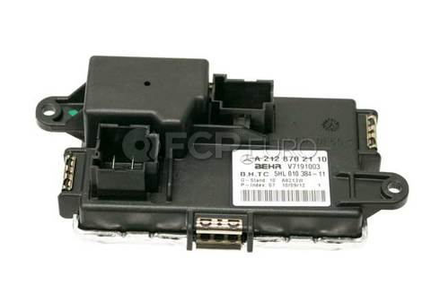 Mercedes HVAC Blower Motor Resistor - Genuine Mercedes 2128702110