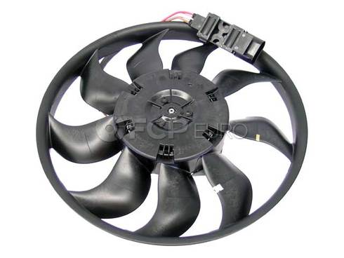 Audi VW Engine Cooling Fan Assembly Right (Q7 Touareg) - Genuine VW Audi 7L0959455E