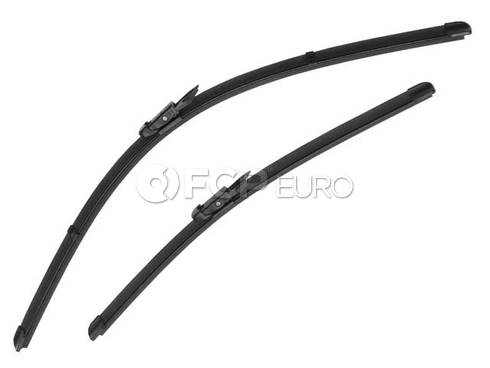 Windshield Wiper Blade Set - Genuine BMW 61612455437