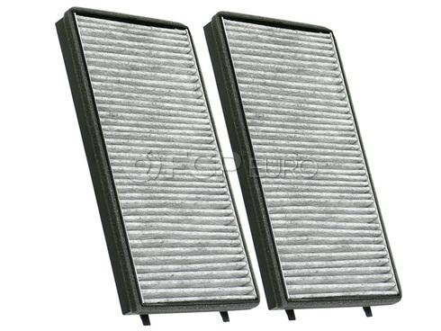 BMW Charcoal Cabin Air Filter Set (E65 E66) - Genuine BMW 64119272643
