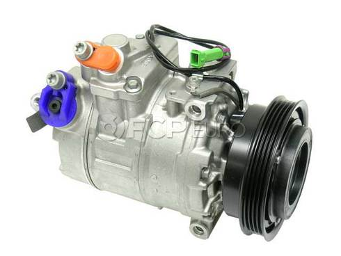 VW A/C Compressor (Passat) - Genuine VW Audi 8D0260805RX