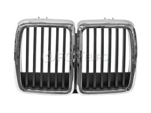 BMW Kidney Grille (E30) - Genuine BMW 51131884350