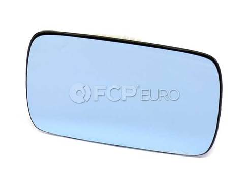 BMW Mirror Glass Plugged-In (318i 528i M3) - Genuine BMW 51161901170