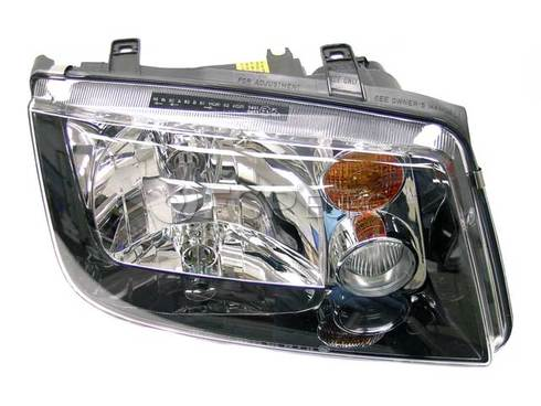 VW Headlight Right (Jetta) - Genuine VW Audi 1JM941018