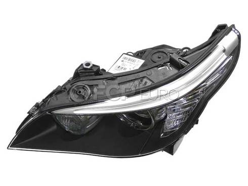 BMW Headlight Assembly Left (E60) - Genuine BMW 63127045695