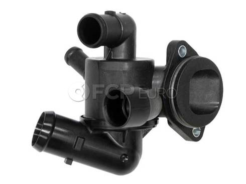 Audi VW Engine Coolant Thermostat Housing (A3 Golf  Jetta) - Genuine VW Audi 03L121111AC