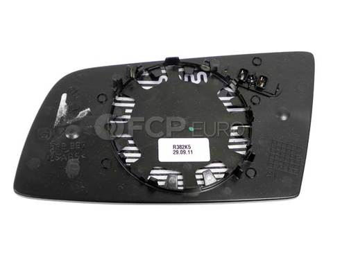 BMW Mirror Glass Heated Convex Right (525i 530i 545i) - Genuine BMW 51167065086