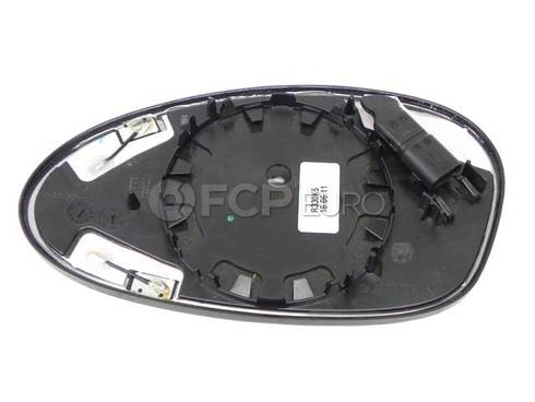 BMW Mirror Glass Heated Convex Right (325i 328i 335i) - Genuine BMW 51167144306