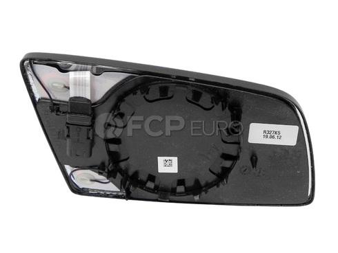 BMW Mirror Glass Heated Plane Left (550i 650i 525i) - Genuine BMW 51167168183