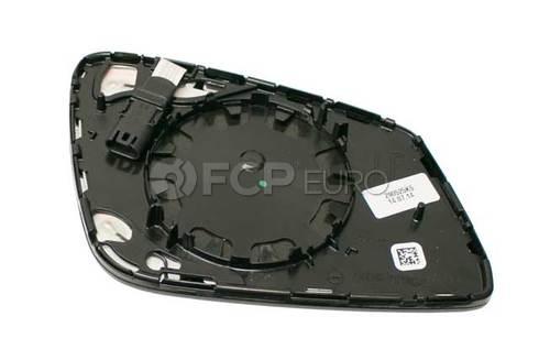 BMW Mirror Glass Heated Plane Left (Ec) (528i 650i 750i) - Genuine BMW 51167228611