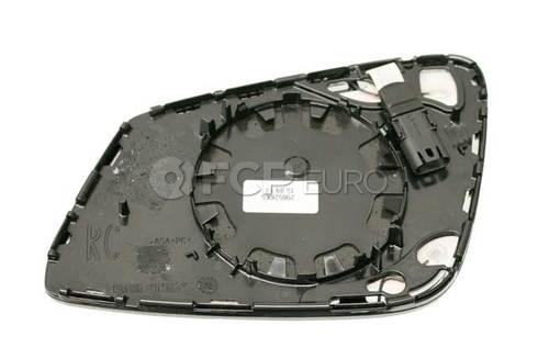 BMW Mirror Glass Heated Convex Right (Ec) (528i 535i 550i) - Genuine BMW 51167228612