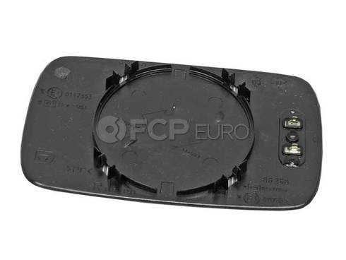 BMW Mirror Glass Heated Convex Right (318i 525i M5) - Genuine BMW 51168119715