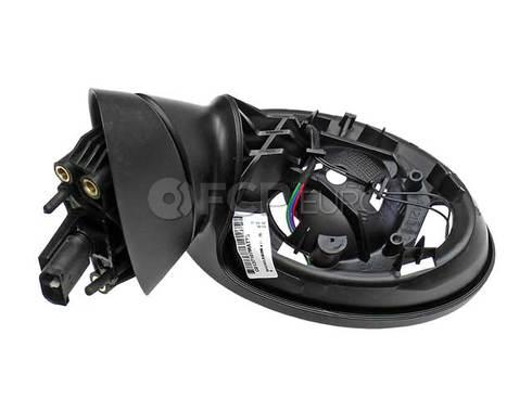 Mini Cooper Exterior Mirror Left (Black) (Cooper) - Genuine Mini 51167192469
