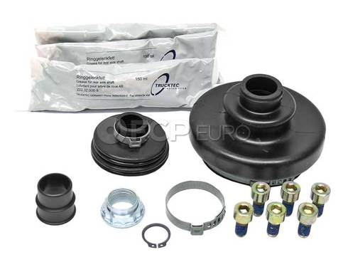 Mercedes CV Joint Boot Kit Front Left Inner (300E 300TE) - Genuine Mercedes 1243300585