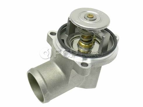 Mercedes Engine Coolant Thermostat Kit (C230) - Genuine Mercedes 1112001715