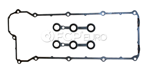 BMW Engine Valve Cover Gasket Set (320i 325i 525i M3) - Ajusa 11120034107