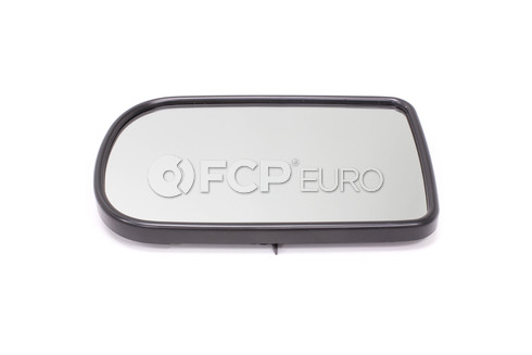 BMW Convex Door Mirror Glass Left (E38) - Genuine BMW 51168209809