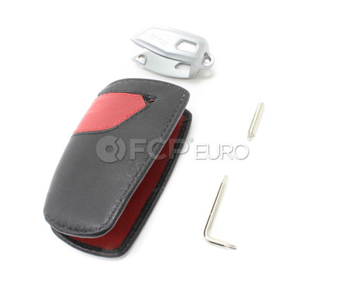 BMW Key Fob Sport (Black-Rot) - Genuine BMW 82292219909