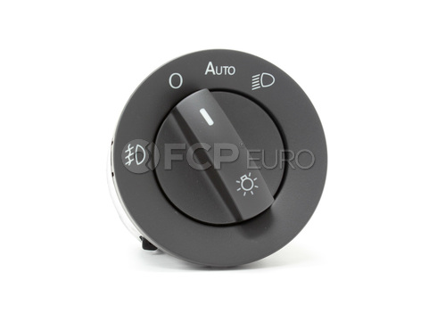 VW Headlight Switch (Touareg) - Genuine VW Audi 7L6941431AG3X1
