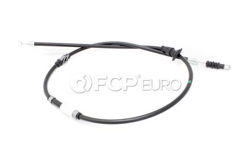 Volvo Parking Brake Cable Rear Left (S40 V40) - Genuine Volvo 30884537