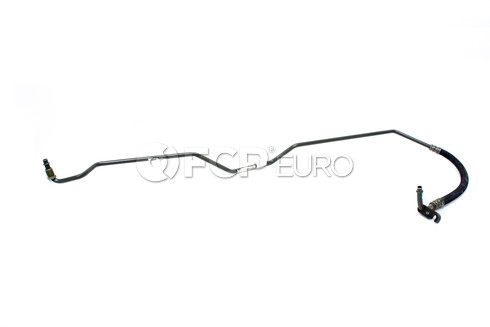 BMW Auto Trans Oil Cooler Hose (528i) - Genuine BMW 17221744459