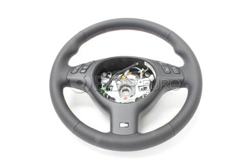 BMW M Sports Leather Steering Wheel - Genuine BMW 32342282020