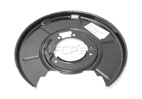 BMW Parking Brake Backing Plate - Genuine BMW 34211158991