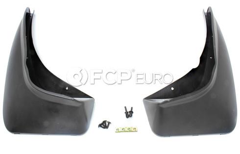 BMW Set Mud Flaps Rear - Genuine BMW 82160002510