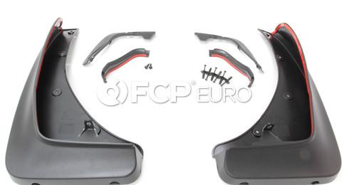 "BMW Set Mud Flaps Front (F15 20"") - Genuine BMW 82162302409"