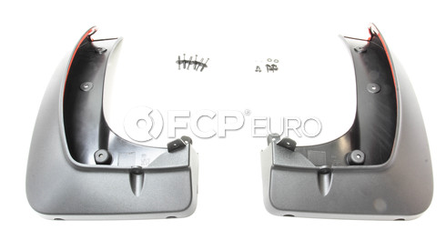 "BMW Set Mud Flaps Rear (F15 20"") - Genuine BMW 82162302431"