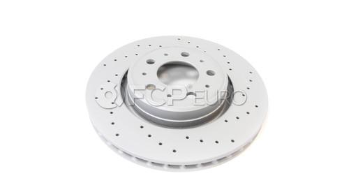 "Volvo Brake Disc 11.89"" (C70 S70 V70) - Zimmermann Sport 31262095"
