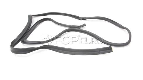 BMW Left Rear Door Seal - Genuine BMW 51226640184