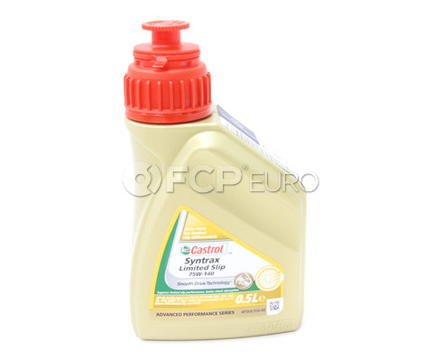 75W140 Syntrax Limited Slip Differential Fluid (.5 liters) - Castrol 1543C9