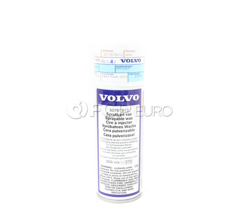 Volvo CV Boot Spray On Wax - Genuine Volvo 30787812
