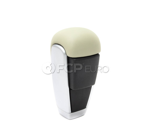 Volvo Shift Knob Beige Leather Automatic (S60 XC60 V70 XC70 S80) - Genuine Volvo 30756901