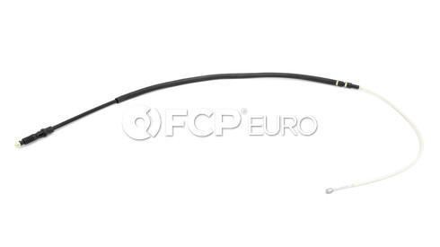 VW Audi Parking Brake Cable Rear (A3 Quattro) - Genuine VW Audi 1K0609721BB