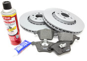 "Volvo Brake Kit Front 13.23"" 5 Piece (XC90) - Zimmerman KIT-516342"