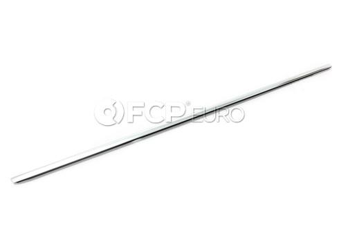 BMW Outer Weatherstrip Right (Chrom) - Genuine BMW 51348194760