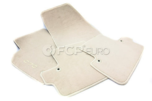 Volvo Calcite Floor Mat Set (C70) -Genuine Volvo 39806214