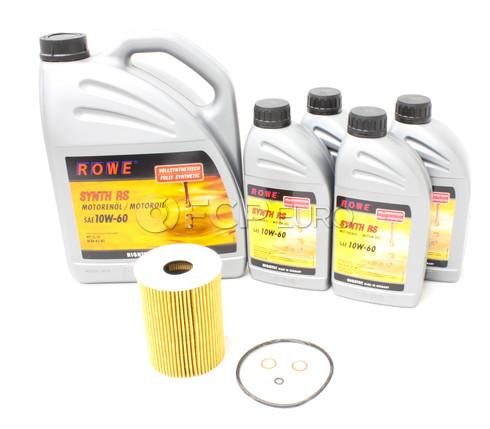 BMW Oil Change Kit 10W-60 - ROWE 11427837997KT1
