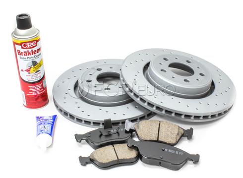 "Volvo Brake Kit 11.89"" - Zimmerman KIT-516586"