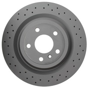 Mercedes Disc Brake - Zimmermann 1664230412