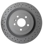 Mercedes Disc Brake - Zimmermann 1664230512