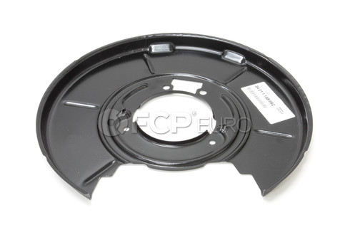 BMW Parking Brake Backing Plate - Genuine BMW 34211158992