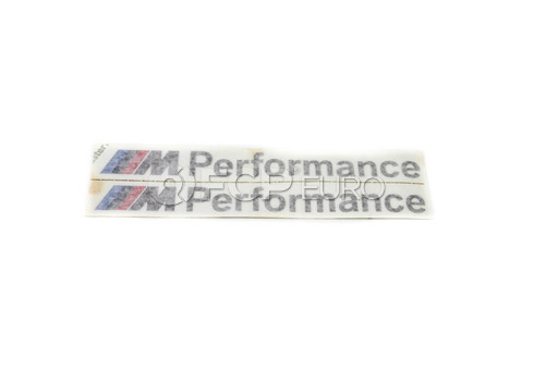 BMW Sticker Set (M Performance) - Genuine BMW 51142296551