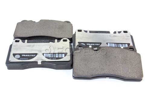 VW Disc Brake Pad - Genuine VW Audi 7P6698151F