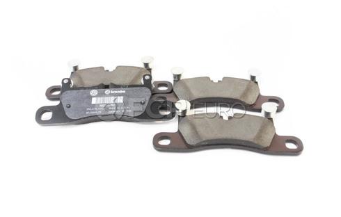 VW Disc Brake Pad Set - Genuine VW Audi 7P6698451C