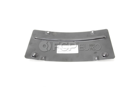 BMW Registration Plate Mounting - Genuine BMW 51181855952